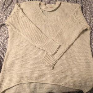 Mossimo Oversized Choker-Neck Sweater